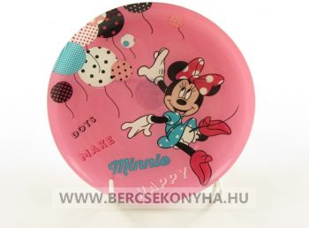 Üveg gyermek lapostányér - Disney Minnie Mouse Party (Luminarc)