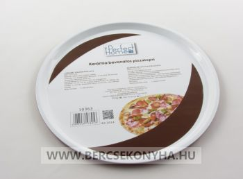 Kerámia bevonatos pizza forma 32 cm - Perfect
