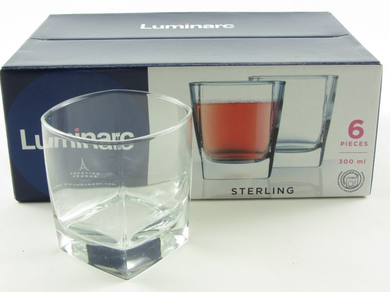 Whiskys pohár 3 dl - Luminarc Sterling (6 db-os)